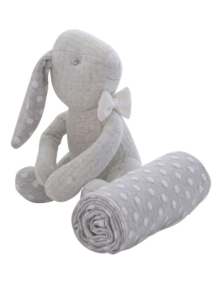 Soft Cuddles 2 Piece Baby Gift Set - Grey image 4