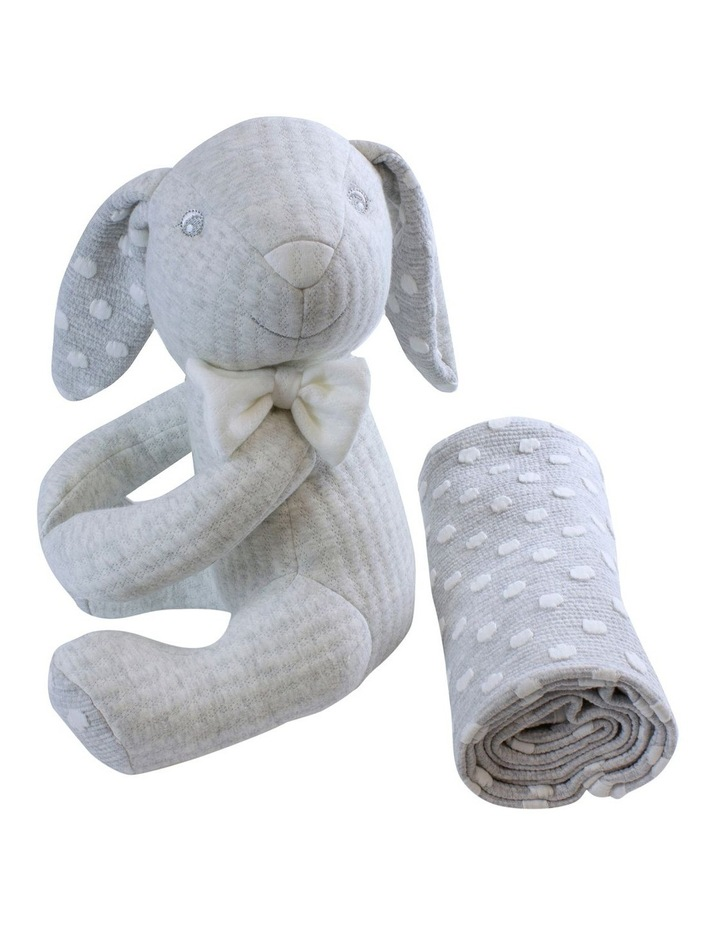 Soft Cuddles 2 Piece Baby Gift Set - Grey image 5