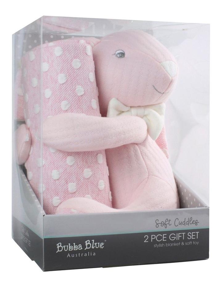 Soft Cuddles 2 Piece Baby Gift Set - Pink image 1