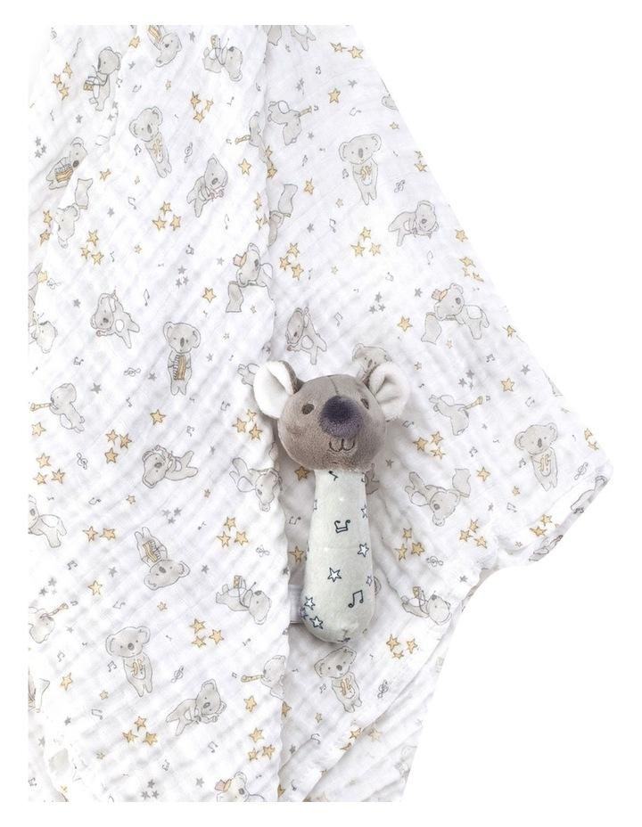 Muslin Wrap & Crinkle Toy - Cheeky Koala image 2