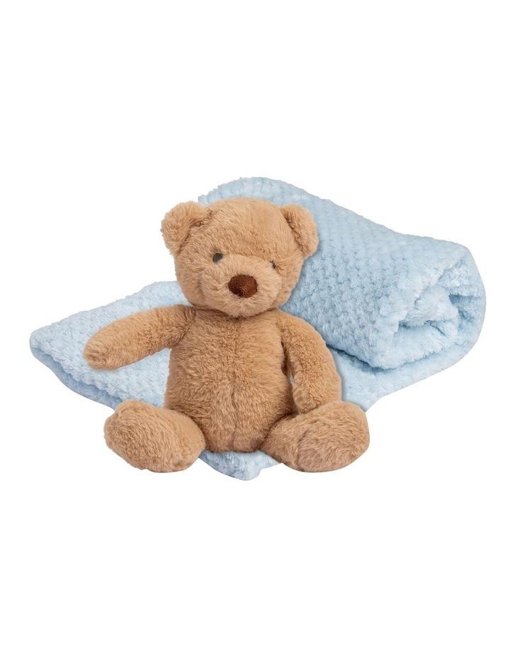 Plush Toy & Blanket - Safari Bear image 1