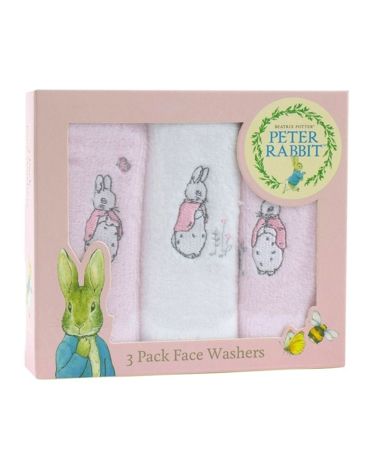 Cloud 3 Pack Face Washers image 1