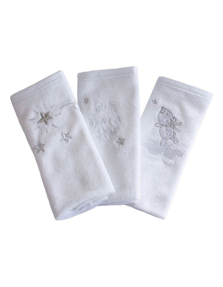 Wish Upon A Star 3 Pack Face Washerss image 3