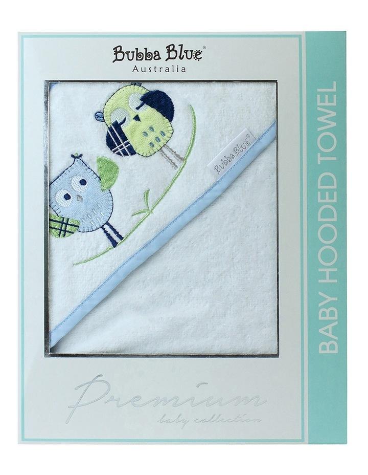 Boy Owl Hooded Bath Towel image 3