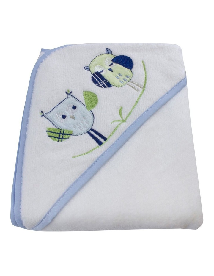Boy Owl Hooded Bath Towel image 2