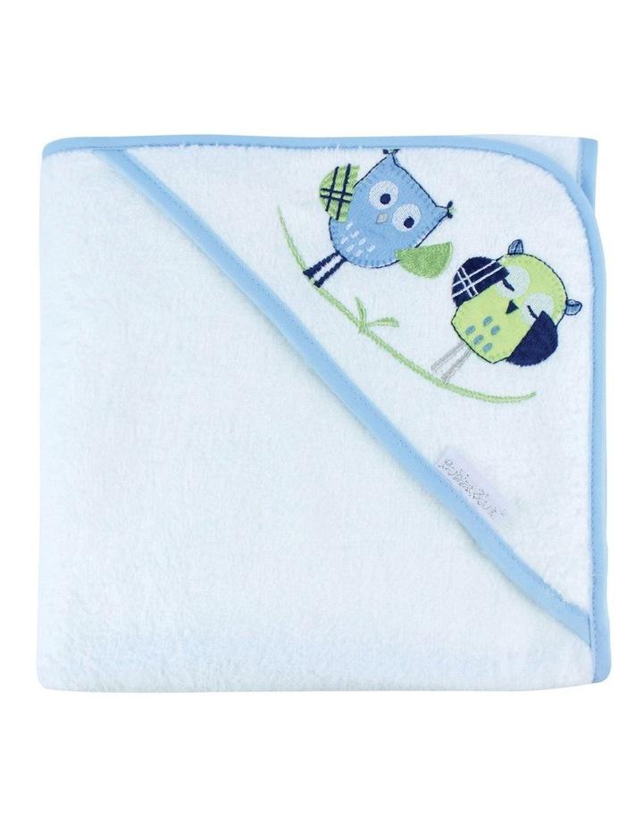 Boy Owl Hooded Bath Towel image 6