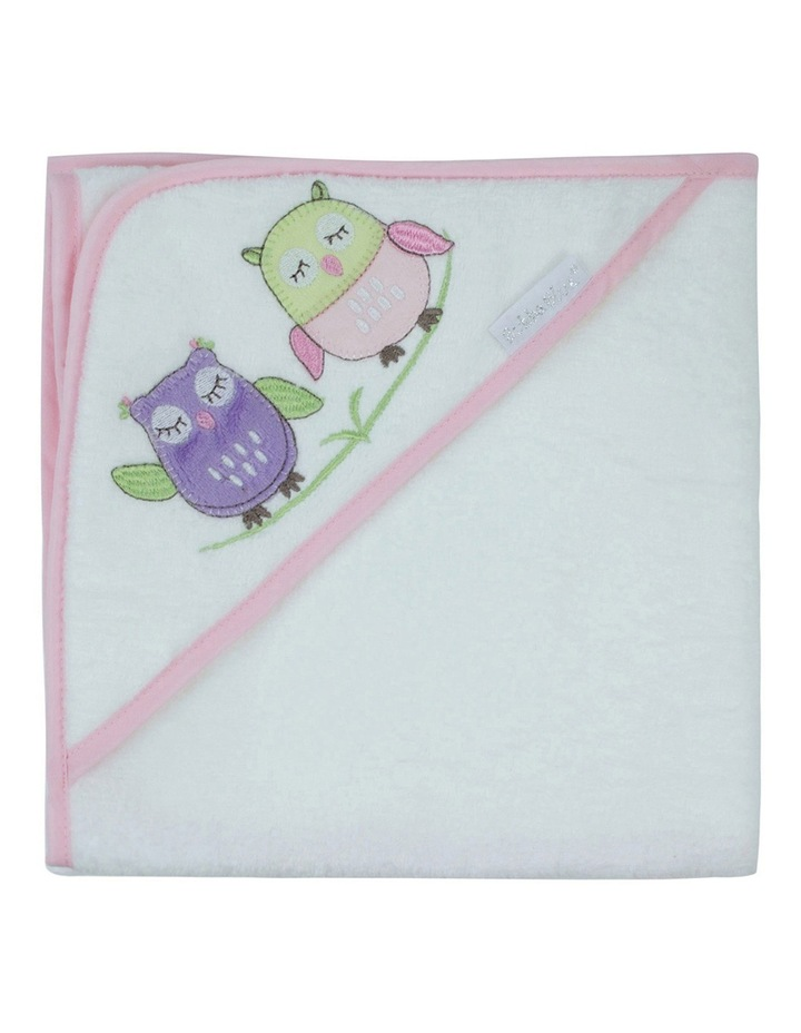Girl Owl Hooded Towel image 2