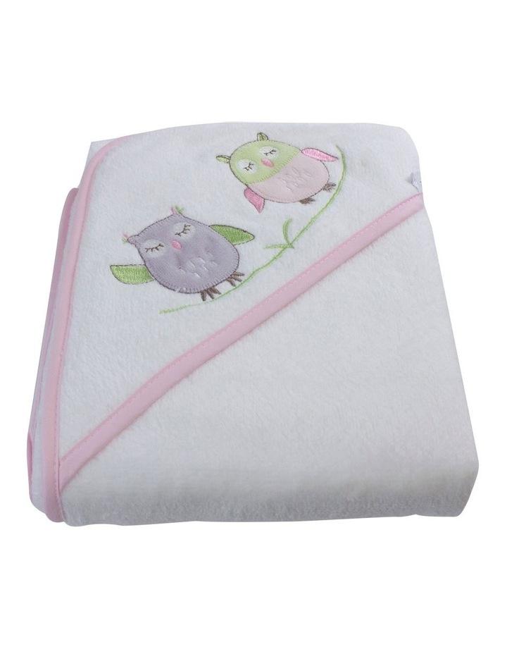 Girl Owl Hooded Towel image 2
