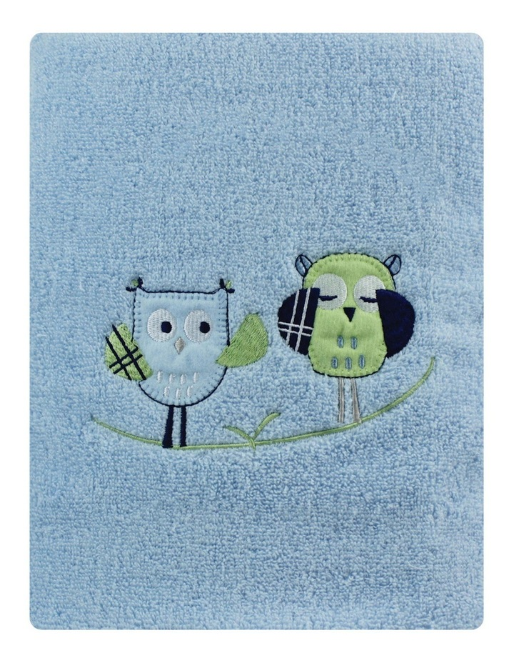 Boys Owl Embroidered Bath Towel image 2