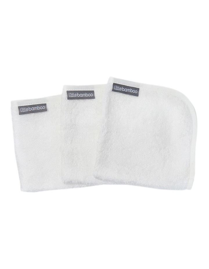Towelling Washer 3Pk Natural image 2