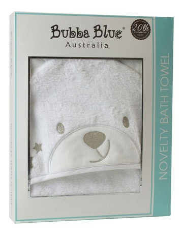 The Best Brand New Bubba Blue Bath Towel Baby Friends Forever Baby