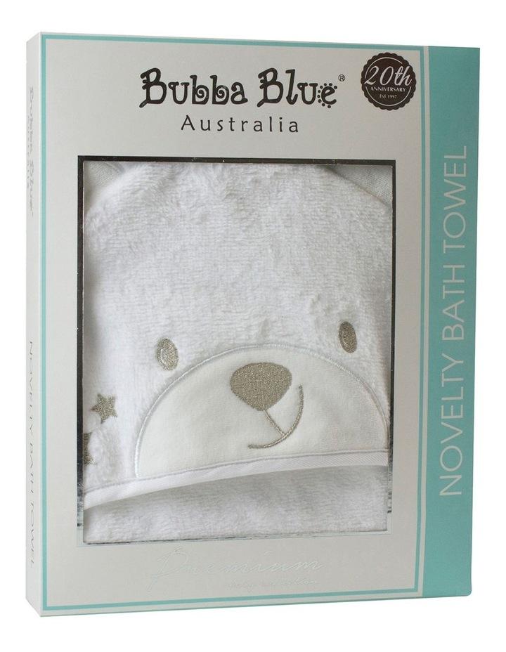 Wish Upon a Star Novelty Bear Hooded Bath Towel image 1