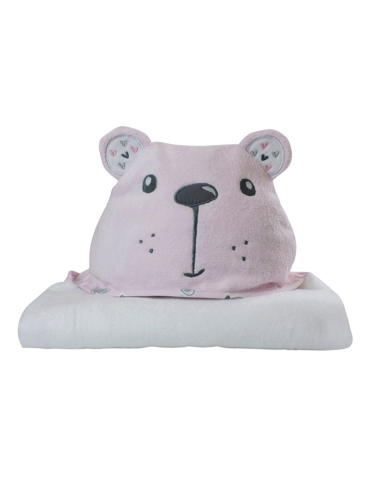 """Beary Sweet"" Novelty Bath Towel image 1"