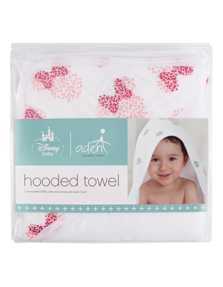 Minnie Disney Baby Hooded Towel image 1