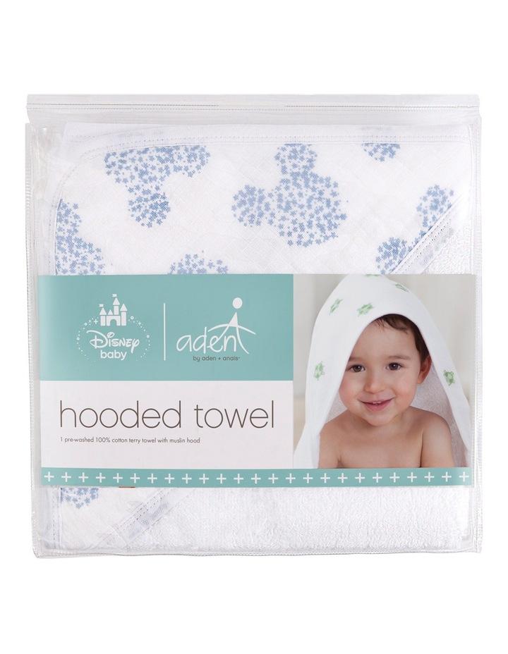 Mickey Disney Baby Hooded Towel image 1