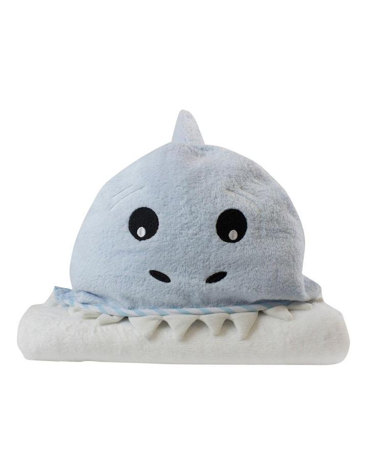 """""""Aussie Animals"""" Shark Novelty Towel image 1"""