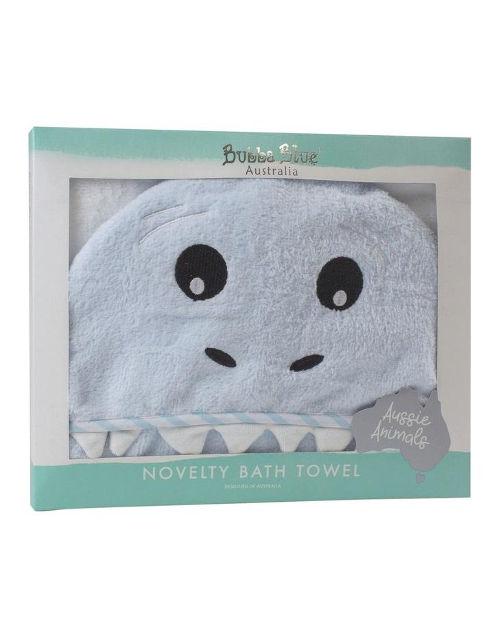 """""""Aussie Animals"""" Shark Novelty Towel image 2"""