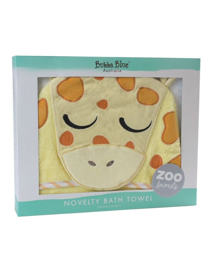 """Zoo Animals"" Giraffe Novelty Towel image 2"