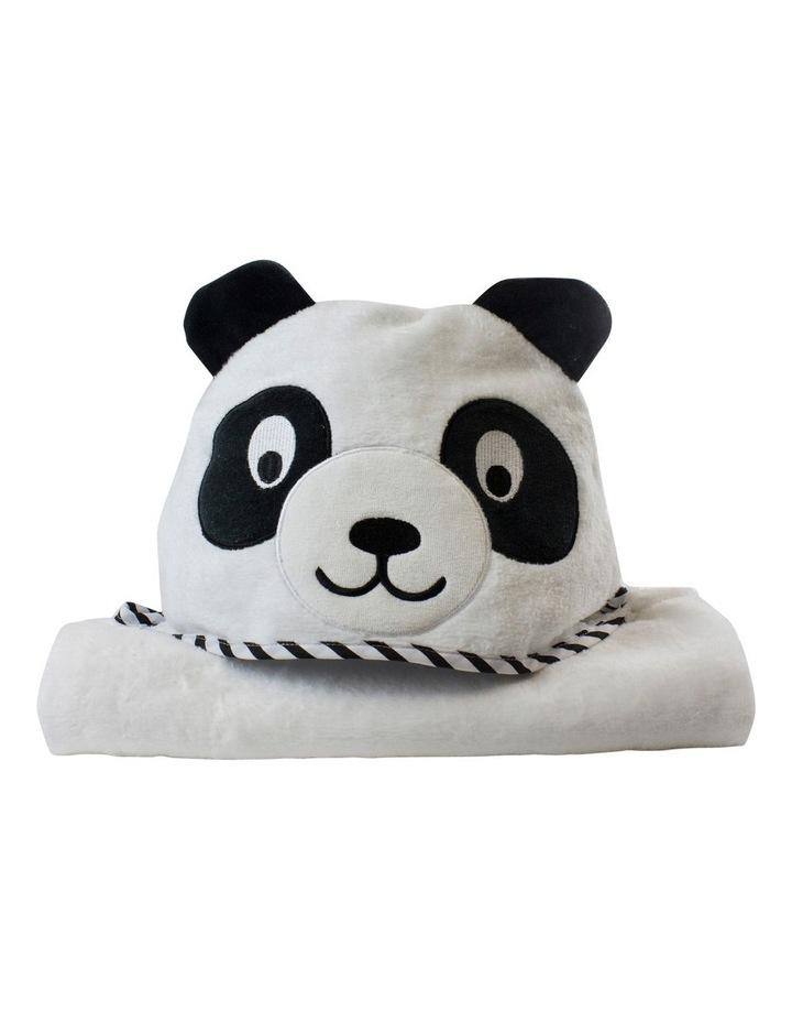"""Zoo Animals"" Panda Novelty Towel image 1"