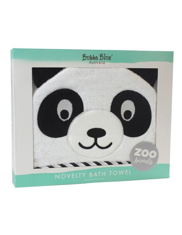 """Zoo Animals"" Panda Novelty Towel image 2"