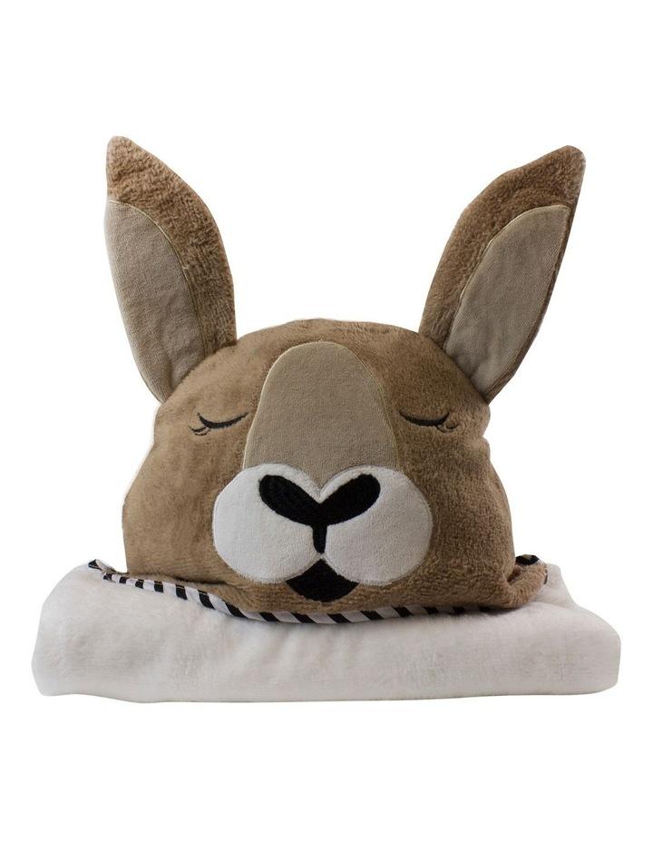 """Aussie Animals"" Kangaroo Novelty Towel image 1"