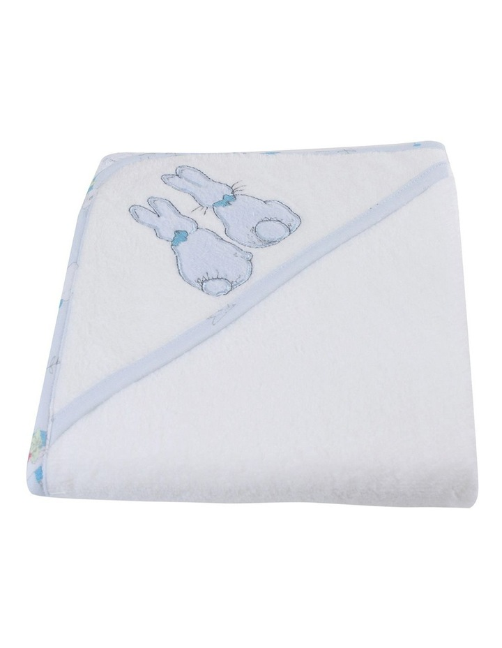 """Peter Rabbit"" Linear Meadow Hooded Towel image 2"
