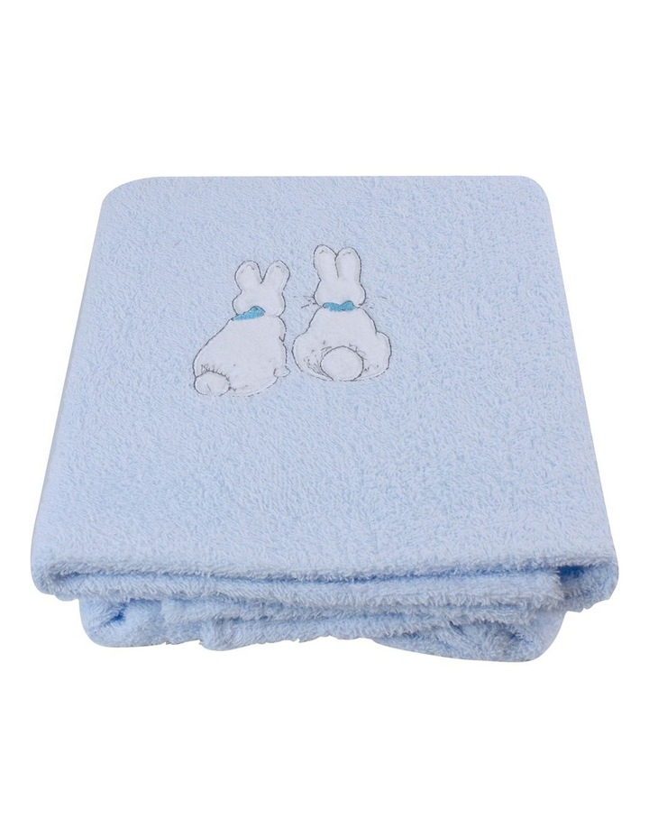 """Peter Rabbit"" Linear Meadow Embroidered Bath Towel image 2"