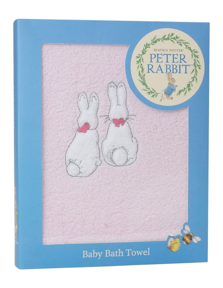 """Peter Rabbit"" Dandelion Dreams Embroidered Bath Towel image 1"