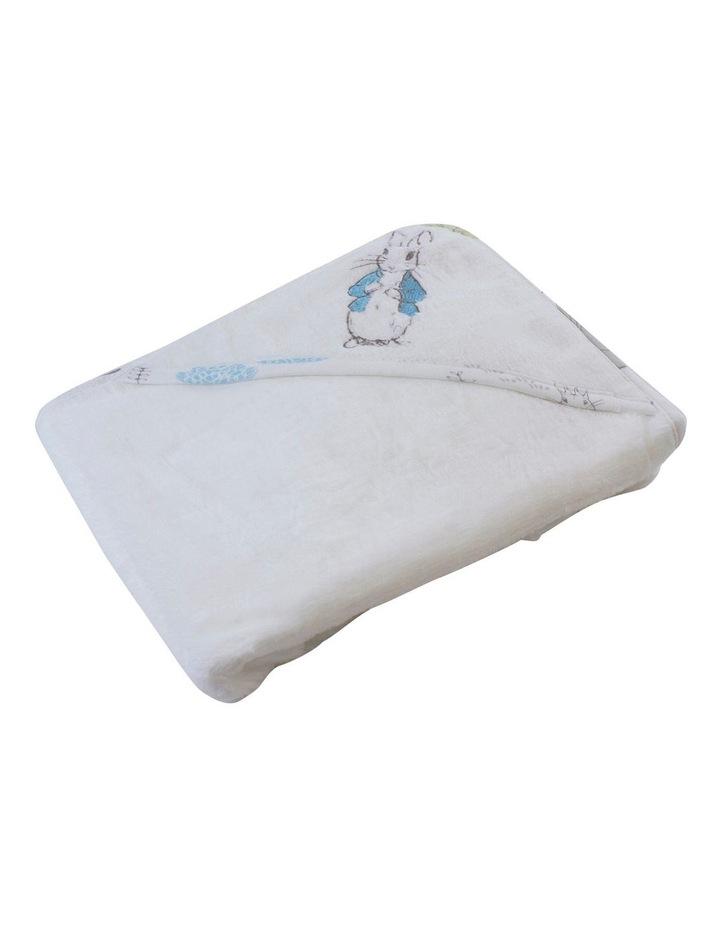 Peter Rabbit Adventures' Baby Hooded Towel image 1