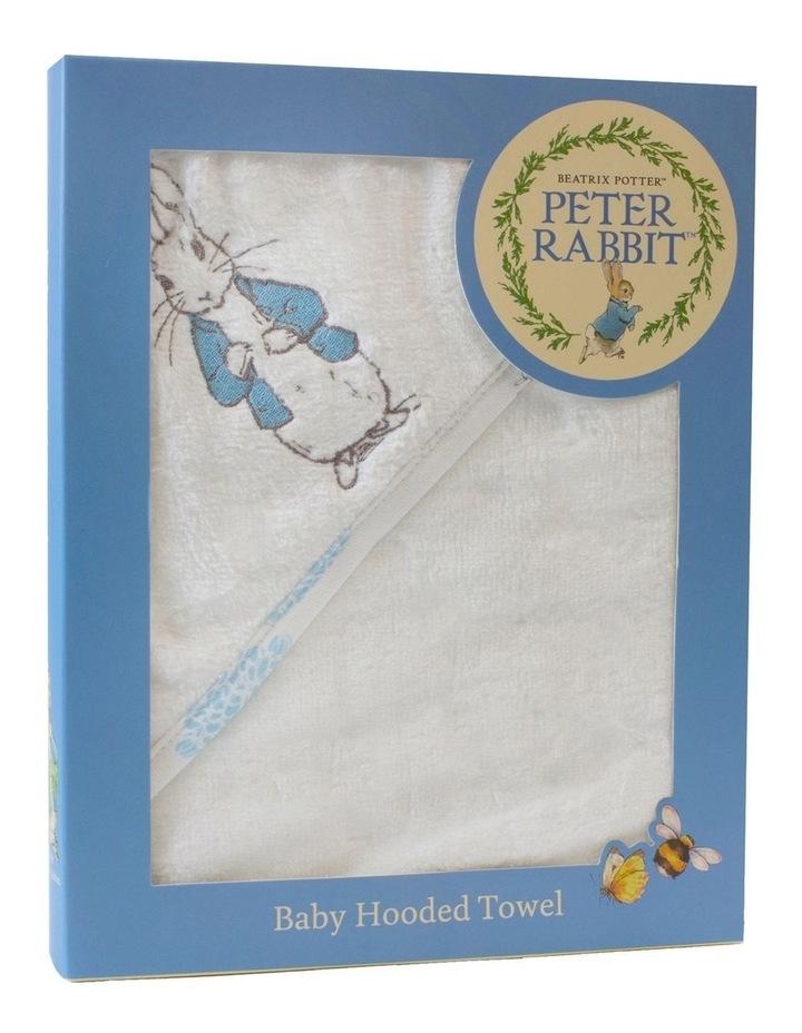 Peter Rabbit Adventures' Baby Hooded Towel image 2