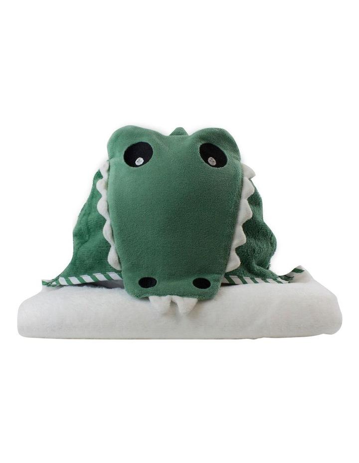 """Aussie Animals"" Crocodile Novelty Hooded Towel image 1"