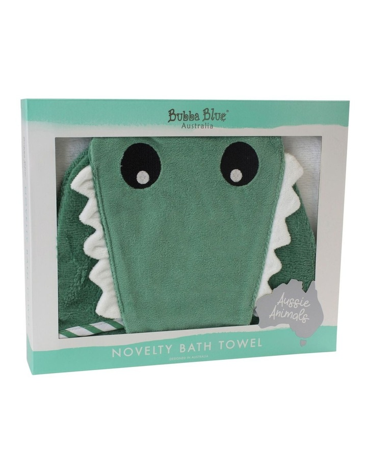 """Aussie Animals"" Crocodile Novelty Hooded Towel image 2"