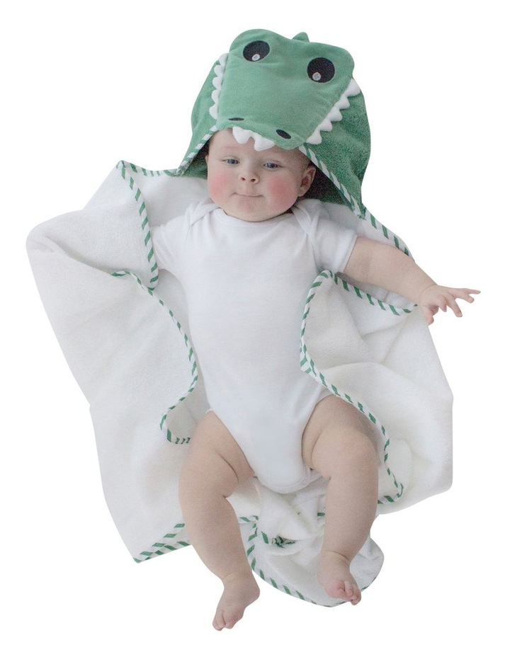 """Aussie Animals"" Crocodile Novelty Hooded Towel image 3"