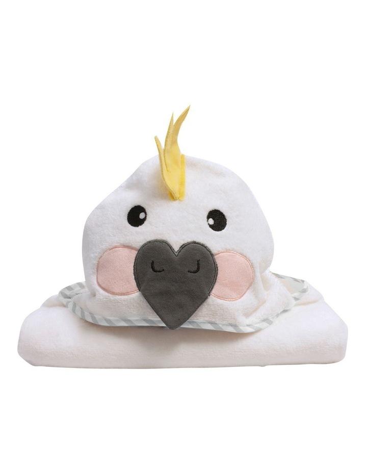 Aussie Animals Cockatoo Novelty Hooded Towel image 2