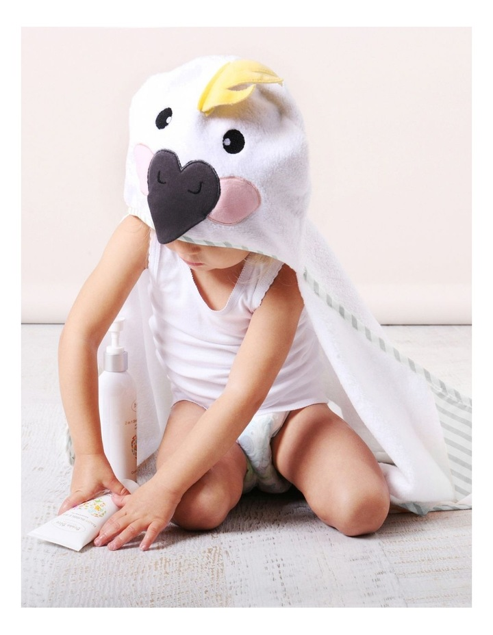 Aussie Animals Cockatoo Novelty Hooded Towel image 3