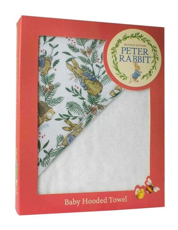 Happy Christmas Hooded Towel image 1