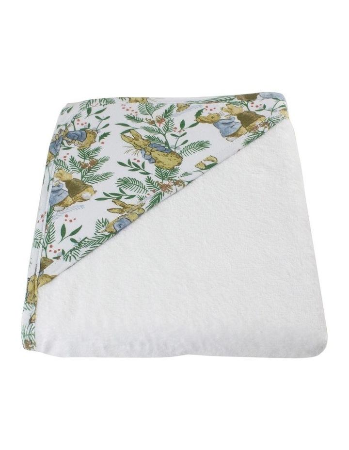Happy Christmas Hooded Towel image 2