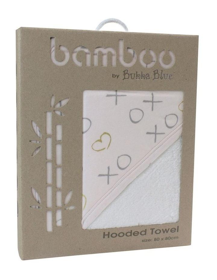 Pink Bloom Hooded Towel image 3