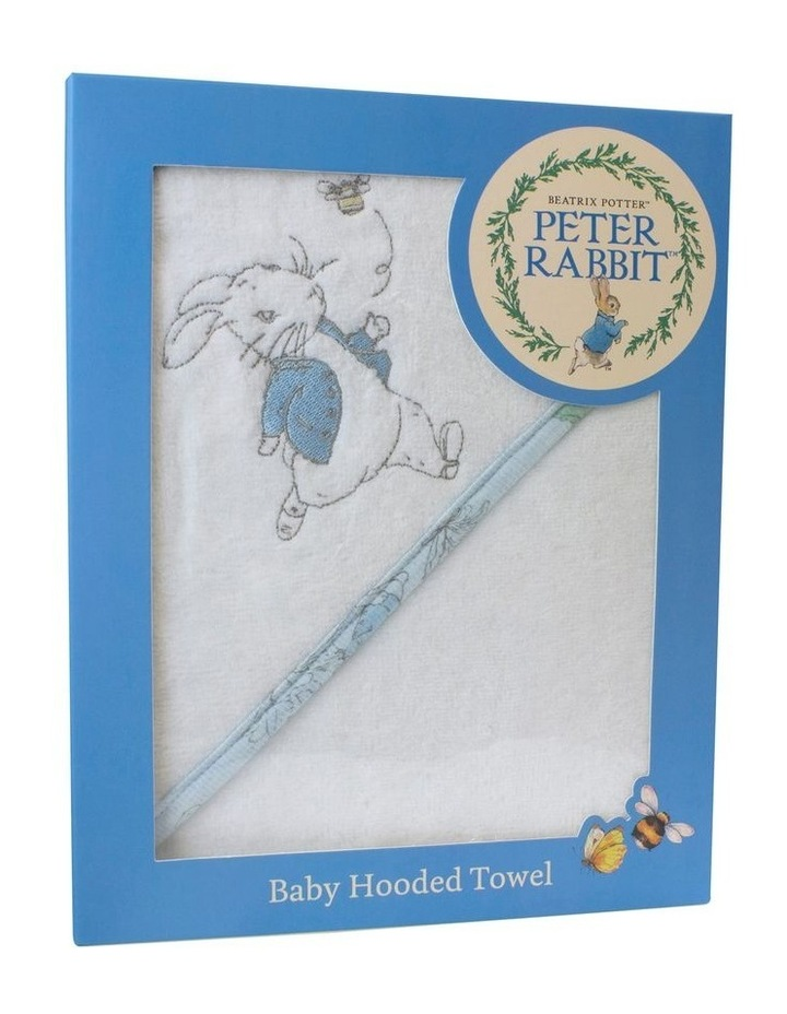 Hop Little Rabbit Hooded Towel image 1
