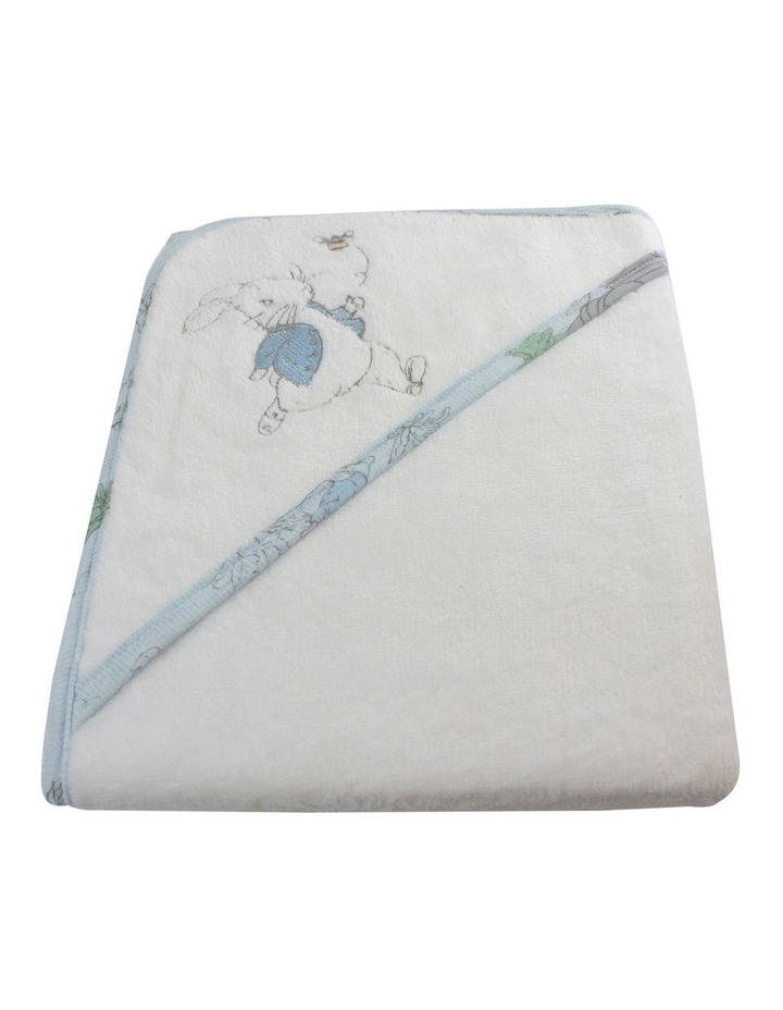 Hop Little Rabbit Hooded Towel image 2