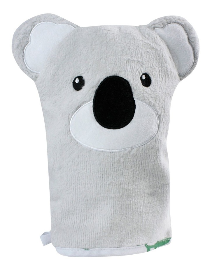 Aussie Animals Koala Hooded Towel & Wash Mitt image 3