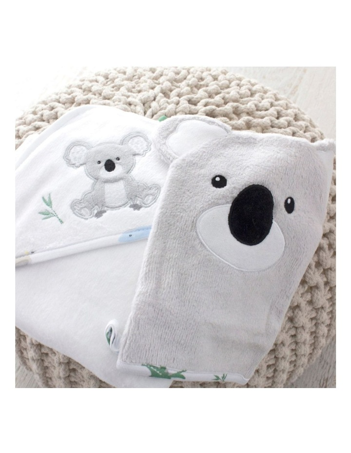 Aussie Animals Koala Hooded Towel & Wash Mitt image 7