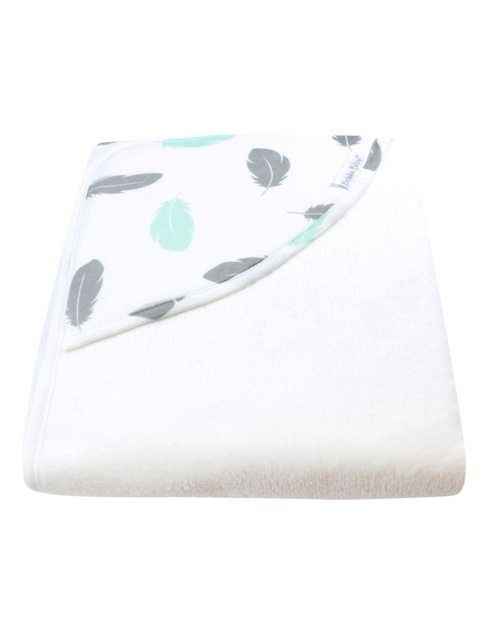 New Feathers Organic Hooded Towel image 3