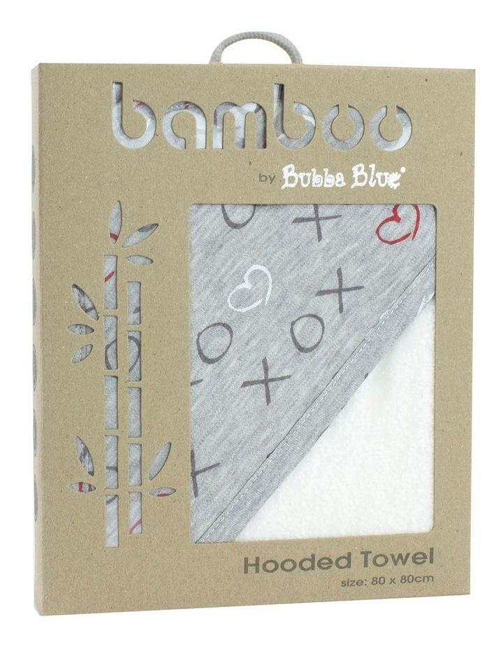 Silver Mist Hooded Towel image 1