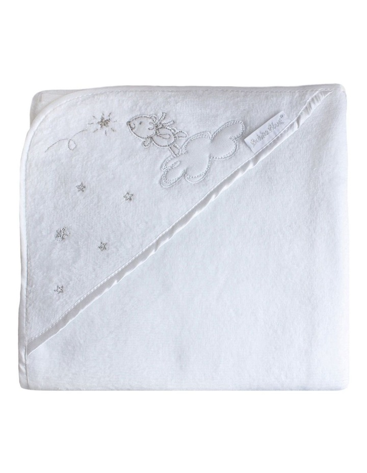 Wish Upon A Star White Hooded Bath Towel image 4