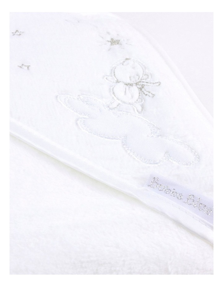 Wish Upon A Star White Hooded Bath Towel image 3