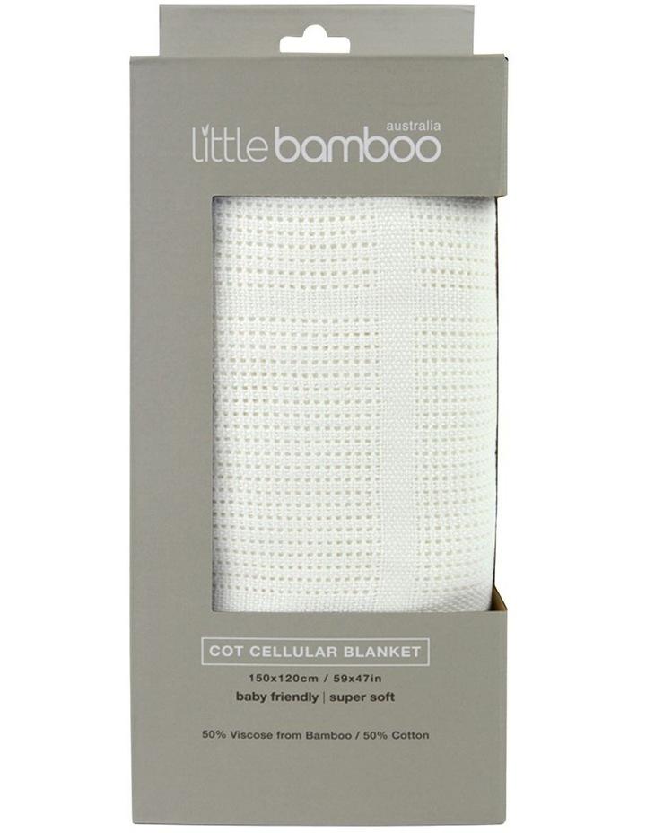 Cot Cellular Blanket image 1