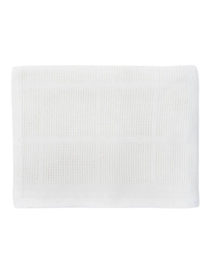Cot Cellular Blanket image 2