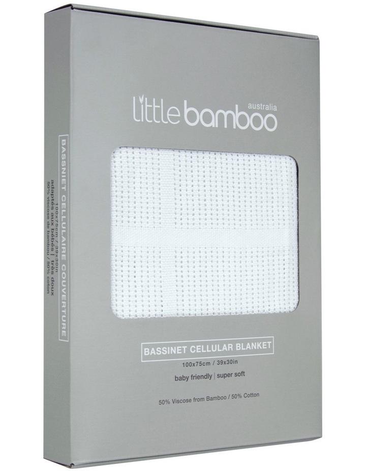 Bassinet Cellular Blanket image 1