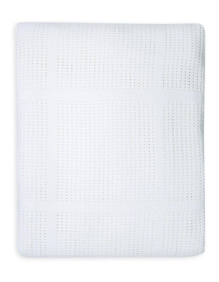 Bassinet Cellular Blanket image 2